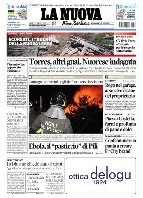 La nuova Sardegna (22.05.2015)