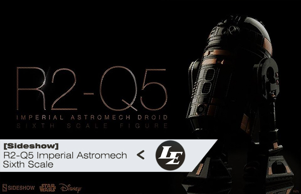 [Sideshow] R2-Q5 Imperial Astromech Droid Sixth Scale Ae662a3f24d892306584befa9486200a