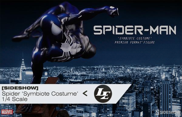 [Sideshow] - Spider-Man 'Symbiote Costume' Premium Format Figure D621e7b34e7ca20f9247351f25041611