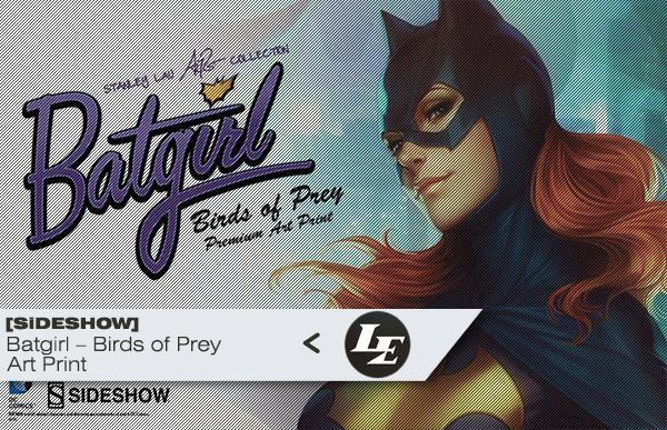[Sideshow] Premium Art Print: Batgirl – Birds of Prey D8a4858073ae467bbe7f6e7c145c0928