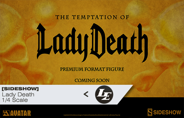 [Sideshow] - The Temptation of Lady Death Premium Format Figure D91fdc5a8c8b1be397d36ccdc37ce6a7