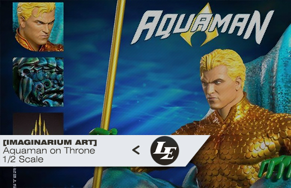 [IMAGINARIUM ART] Aquaman on Throne - 1/2 statue Ed514b612560c7496bc25608bccbdfbd